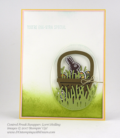Stampin' Up! Basket Builder Bundle card shared by Dawn Olchefske #dostamping (Lorri Heiling)