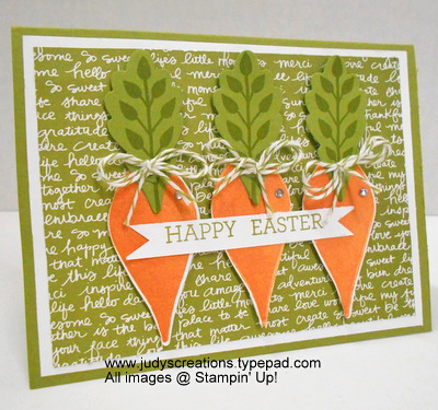 Stampin' Up! DOstamper STARS Friday Feature cards shared by Dawn Olchefske #dostamping (Judy Strickling)