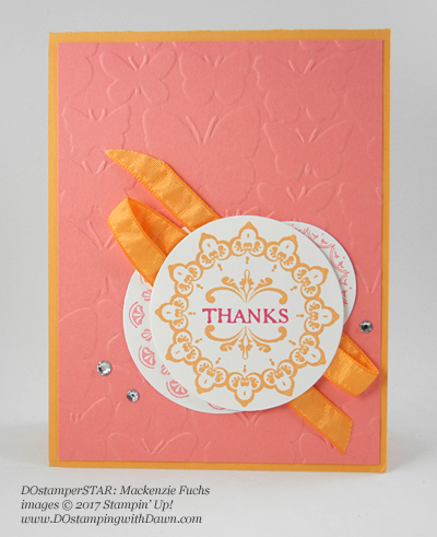 Stampin' Up! DOstamper STARS Friday Feature cards shared by Dawn Olchefske #dostamping (Mackenzie Fuchs)
