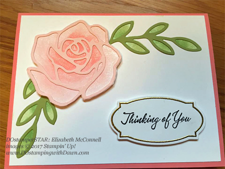 Stampin' Up! DOstamper STARS Friday Feature cards shared by Dawn Olchefske #dostamping (Elizabeth McConnell)