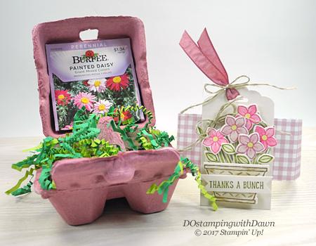 Stampin' Up! Egg Carton & Basket Bunch Bundle sharedby Dawn Olchefske #dostamping