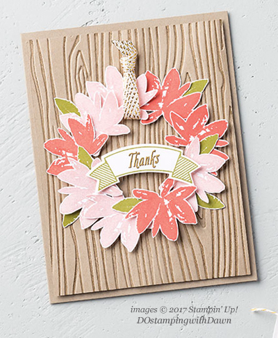 Stampin' Up! Avant Garden shared by Dawn Olchefske #dostamping