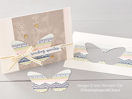 Stampin' Up! Sale-a-Bration Delicate Details shared by Dawn Olchefske #dostamping