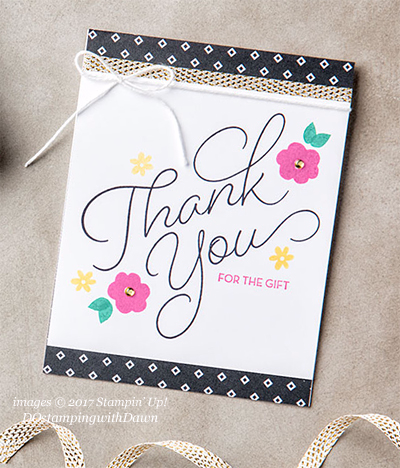 Stampin' Up! Sale-a-Bration So Very Much shared by Dawn Olchefske #dostamping