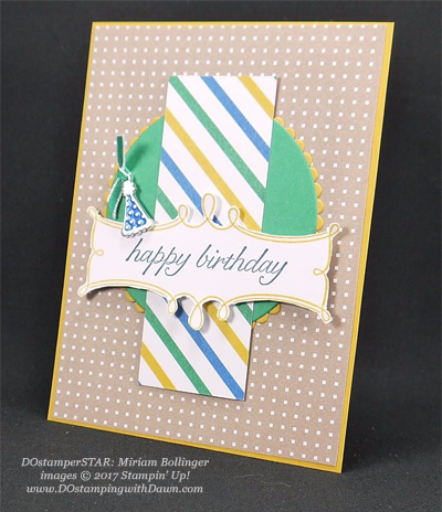 Stampin' Up! Party Animal Create & Play Kit for DOstamperSTARS shared by Dawn Olchefske #dostamping (Miriam Bollinger)