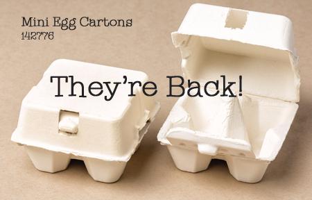 142776 Stampin' Up! Mini Egg Cartons, Shop with Dawn Olchefske #dostamping