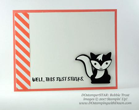 Stampin' Up! DOstamper STARS Friday Featureswap cards shared by Dawn Olchefske #dostamping (Bobbie Trost)