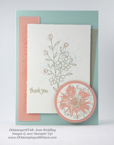Stampin' Up! DOstamper STARS Friday Feature swap cards shared by Dawn Olchefske #dostamping (Joan Welding)