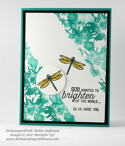 Stampin' Up! DOstamper STARS Friday Featureswap cards shared by Dawn Olchefske #dostamping (Robin Anderson)