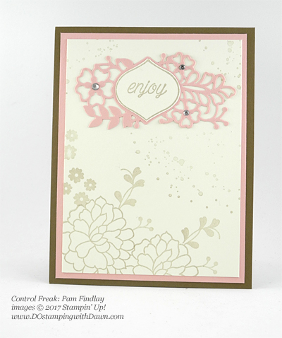 Stampin' Up! So in Love swap cards shared by Dawn Olchefske #dostamping (Pam Findlay)