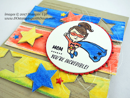 Stampin' Up! Everyday Hero card created by Dawn Olchefske for DOstamperSTARS Thursday Challenge #DSC228 #dostamping