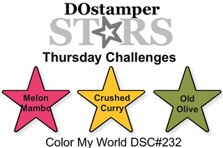 DOSstamperSTARS Thursday Challenge #232-Color My World