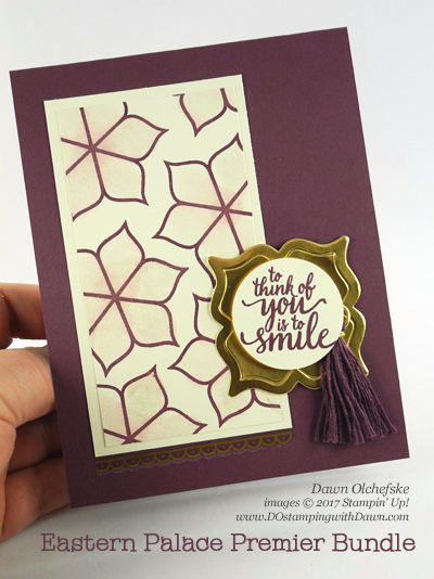 Eastern Palace Premier Bundle Fresh Fig card by Dawn Olchefske #dostamping