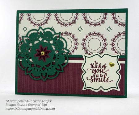 Stampin' Up! DOstamperSTARS Friday Feature cards shared by Dawn Olchefske #dostamping (Diane Lanfer)