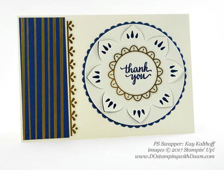Stampin' Up! Eastern Palace Bundleswap cards shared by Dawn Olchefske #dostamping (Kay Kalthoff)