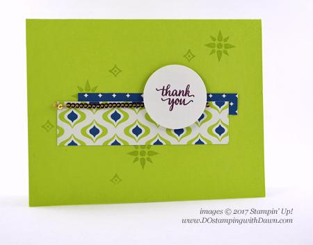 Stampin' Up! Eastern Palace Bundleswap cards shared by Dawn Olchefske #dostamping