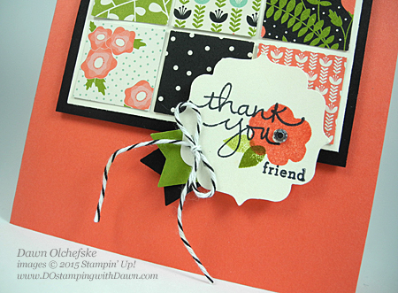 Stampin' Up! Endless Thanks #dostamping