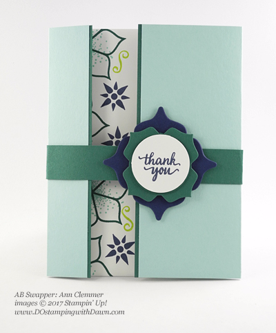 Stampin' Up! Eastern Palace Suite cards shared by Dawn Olchefske #dostamping(Ann Clemmer)