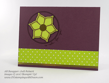 Stampin' Up! Eastern Palace Suite cards shared by Dawn Olchefske #dostamping (Jodi Reinert)