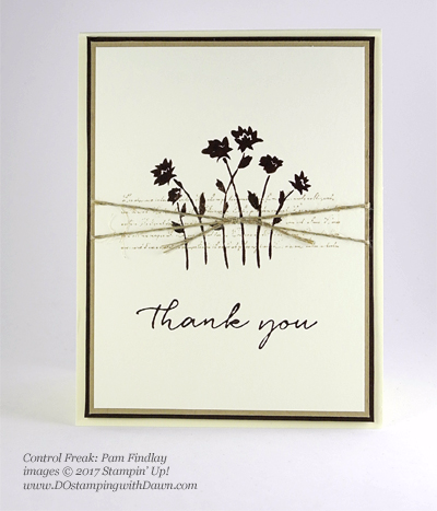 Stampin' Up! Background Bits host set shared by Dawn Olchefske #dostamping  (Pam Findlay)