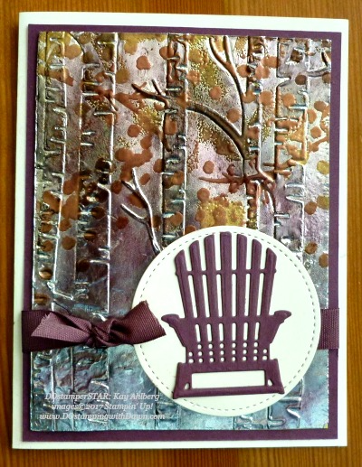 Stampin' Up! Colorful Seasons card shared by Dawn Olchefske #dostamping(Kay Ahlberg)