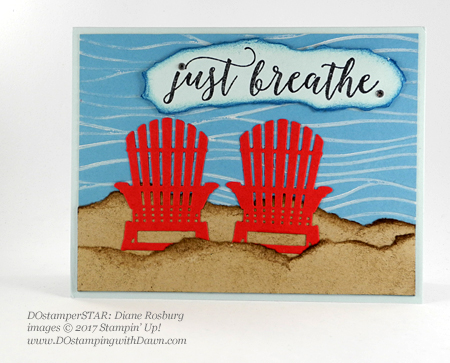Stampin' Up! Colorful Seasons card shared by Dawn Olchefske #dostamping(Diane Rosberg)