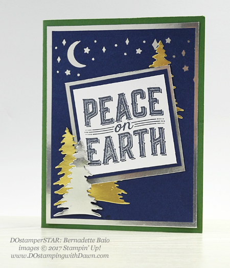 Stampin' Up! Carols of Christmas Bundle cards shared by Dawn Olchefske #dostamping (Bernadette Baio)