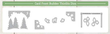 Stampin' Up! Card Front Builder Thinlits Dies Early Release, Shop with Dawn O #dostamping