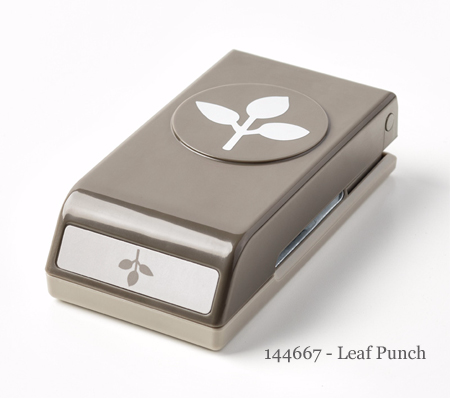 144667 Leaf Punch - shop with Dawn O #stampinup #dostamping #leafpunch
