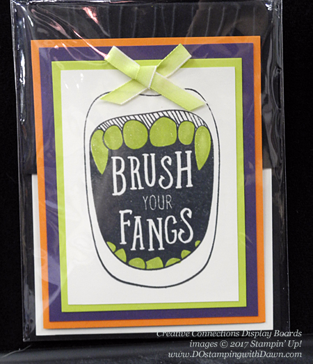 Creative Connections Event Display projects shared by Dawn Olchefske #dostamping #stampinup #handmade #cardmaking #stamping #diy #creepitreal #halloween