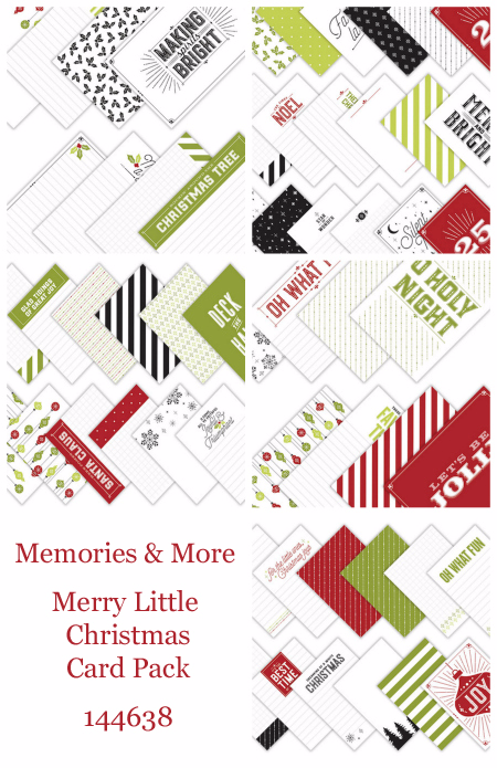 Stampin' Up! Memories & More Merry Little Christmas Card Pack cards by Dawn Olchefske for DOstamperSTARS Thursday Challenge #DSC250 #dostamping #stampinup #handmade #cardmaking #stamping #diy #merrylittlechristmas #christmas #memoriesandmore