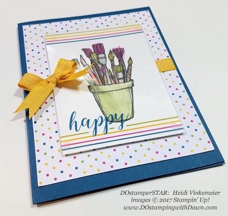 Stampin' Up! Memories & More Color Theory Card Pack cards shared by Dawn Olchefske #dostamping  #stampinup #handmade #cardmaking #stamping #diy #memoriesand more #colortheory (Heidi Vinkemeier)