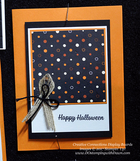 Stampin' Up! Spooky Cat Samples shared by Dawn Olchefske #dostamping  #stampinup #handmade #cardmaking #stamping #diy #spookycat #trickortreat #halloween