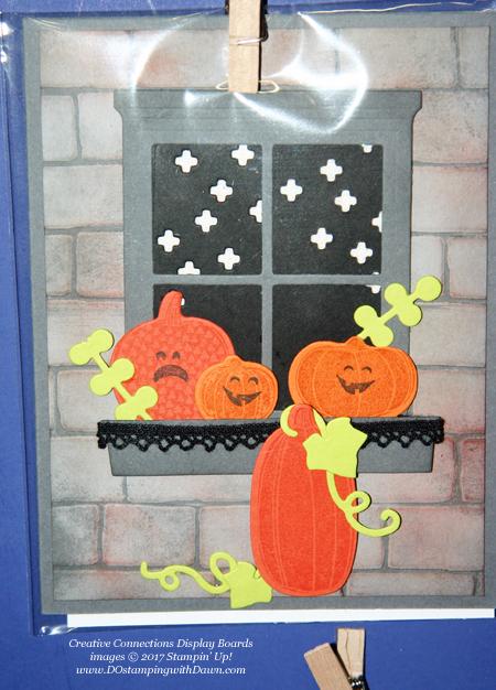 Stampin' Up! Pick a Pumpkin stamp set & Patterned Pumpkin thinlits shared by Dawn Olchefske #dostamping #stampinup #handmade #cardmaking #stamping #diy #fall #halloween #rubberstamping