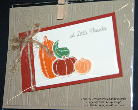 Stampin' Up! Pick a Pumpkin & Patterned Pumpkins Thinlits shared by Dawn Olchefske #dostamping  #stampinup #handmade #cardmaking #stamping #diy #fall #halloween #rubberstamping