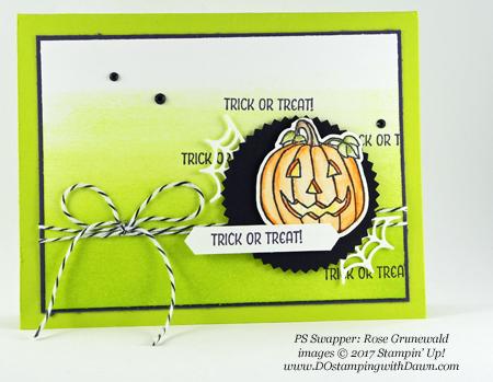 Stampin' Up! Seasonal Chums stamp set shared by Dawn Olchefske #dostamping #stampinup #handmade #cardmaking #stamping #diy #fall #halloween #rubberstamping (Rose Grunewald)