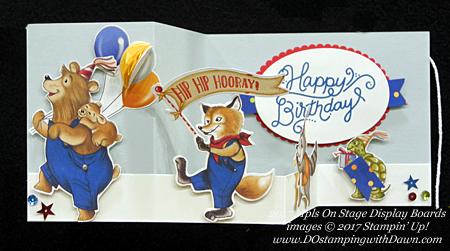 Stampin' Up! Birthday Memories Designer Series Paper shared by Dawn Olchefske #dostamping#stampinup #handmade #cardmaking #stamping #diy #rubberstamping (2017 Minneapolis OnStage Display Board)