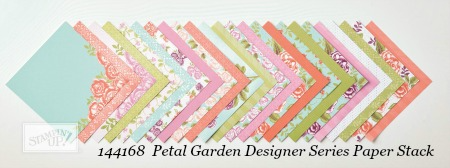 Stampin' Up! Petal Garden Designer Series Paper Stack shared by Dawn Olchefske #dostamping #stampinup #handmade #cardmaking #stamping #diy #rubberstamping