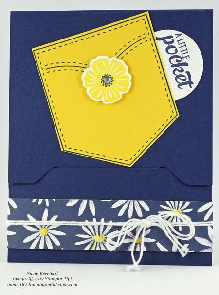 Stampin' Up! Delightful Daisy Designer Series Paper shared by Dawn Olchefske #dostamping #stampinup #handmade #cardmaking #stamping #diy #rubberstamping