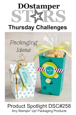DOstamperSTARS Thursday Challenge #DSC258 #dostamping #stampinup #handmade #cardmaking #stamping #diy