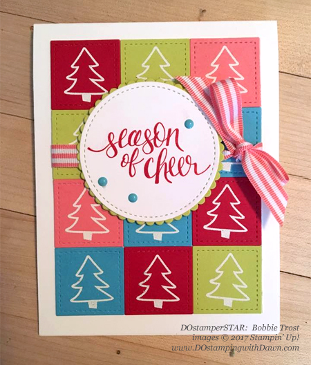 Stampin' Up! Watercolor Christmas shared by Dawn Olchefske #dostamping  #stampinup #handmade #cardmaking #stamping #diy #rubberstamping #dostamperstars #christmas (Bobbie Trost)