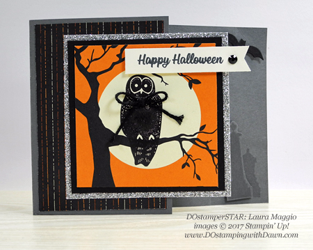 Stampin' Up! Spooky Cat card shared by Dawn Olchefske #dostamping  #stampinup #handmade #cardmaking #stamping #diy #rubberstamping #dostamperstars (Laura Maggio)