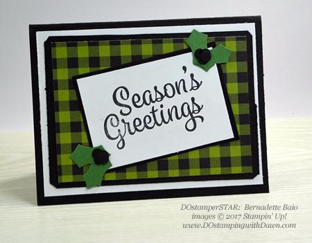 Stampin' Up! Snowflake Sentiments card shared by Dawn Olchefske #dostamping #stampinup #handmade #cardmaking #stamping #diy #rubberstamping #dostamperstars (Bernadette Baio)