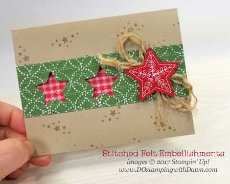 Stampin' Up! Quilted Christmas Suite shared by Dawn Olchefske #dostamping  #stampinup #handmade #cardmaking #stamping #diy #rubberstamping #christmas #quilt