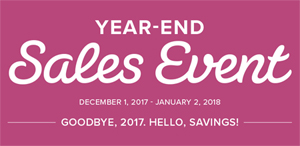 Stampin' Up! Year-End Sales Event, Shop with Dawn Olchefske #dostamping #stampinup