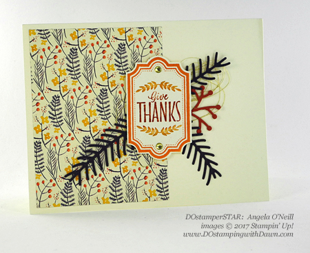 Stampin' Up! Labels of Love shared by Dawn Olchefske #dostamping  #stampinup #handmade #cardmaking #stamping #diy #rubberstamping #thankyoucards (Angela O'Neill)