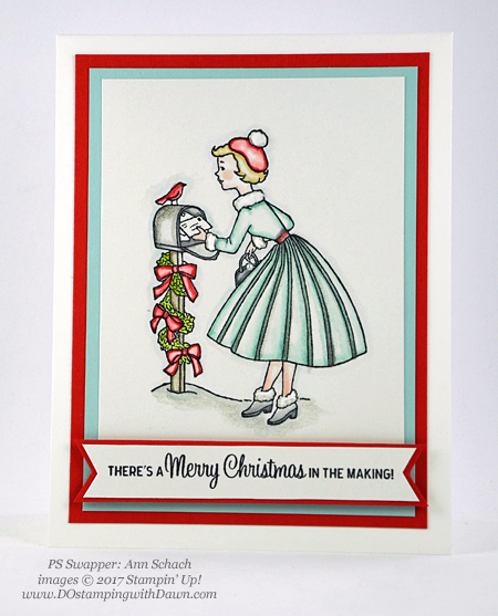 Stampin' Up! Christmas in the Making shared by Dawn Olchefske #dostamping #stampinup #handmade #cardmaking #stamping #diy #rubberstamping #christmascards (Ann Schach)