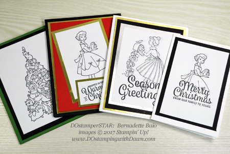 Stampin' Up! Christmas in the Making card shared by Dawn Olchefske #dostamping #dostamperstars #christmascards #diy #rubberstamping #handmade (Bernadette Baio)
