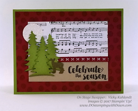 Stampin' Up! Tags & Trimmings stamp set and Card Front Builder Thinlit Dies shared by Dawn Olchefske #dostamping #stampinup #handmade #cardmaking #stamping #diy #rubberstamping (Vicky Kahlandt)