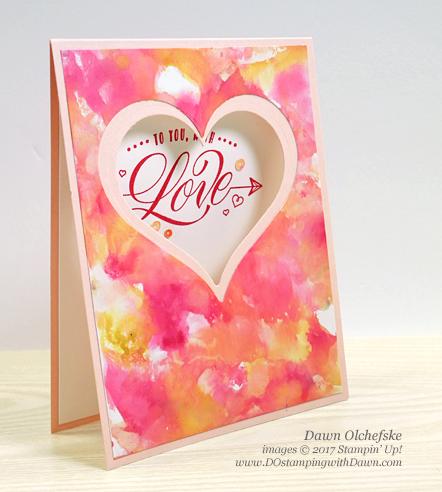 Stampin' Up! Festive Phrases stamp set for Valentine's Day by Dawn Olchefske #dostamping #stampinup #handmade #cardmaking #stamping #diy #love #valentine #valentinesday #festivephrases #bigshot #minipizzabox #treats